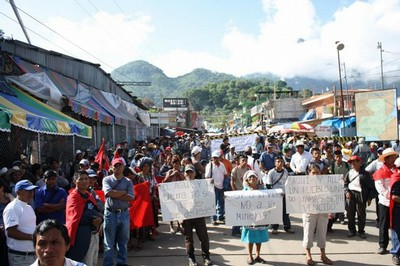 Protesten in Guatemala