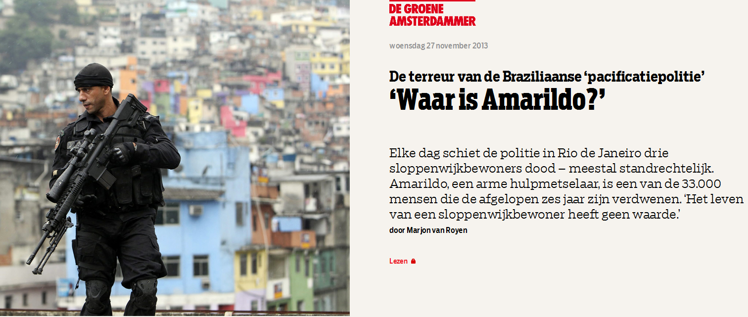 'Waar is Amarildo?'